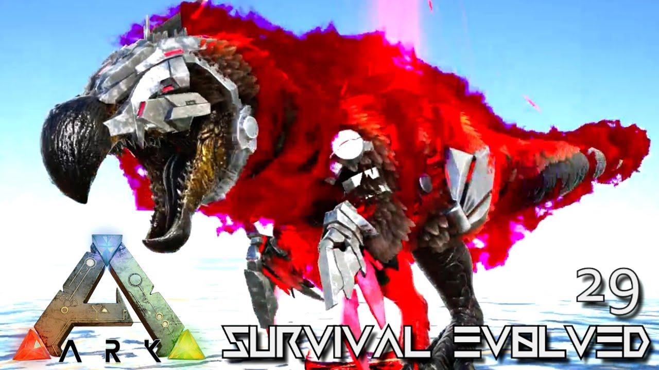ARK: SURVIVAL EVOLVED - LRIS TEK DODOREX & KINGDADDYDMAC BOSS !!! ETERNAL  PROMETHEUS TUNGUSKA E29