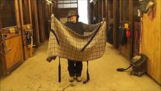 How To Fold A Stable Blanket