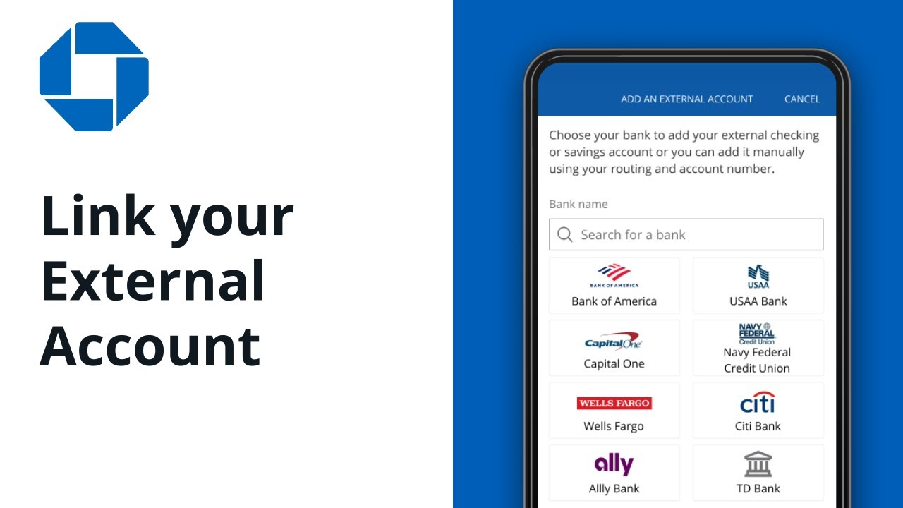 How to Link your External Accounts   Chase Mobile® App