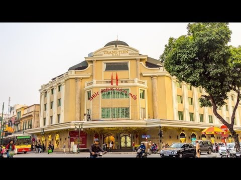 Trang Tien Plaza Shopping Mall Hanoi Vietnam