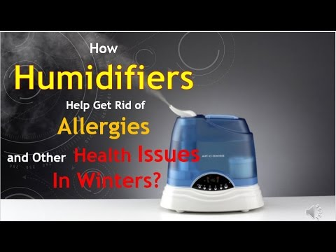 How Humidifiers Help Get Rid of Allergies and Other Health Issues In Winters?