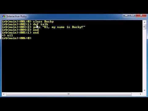 Ruby Programming Tutorial 8 Methods thumbnail
