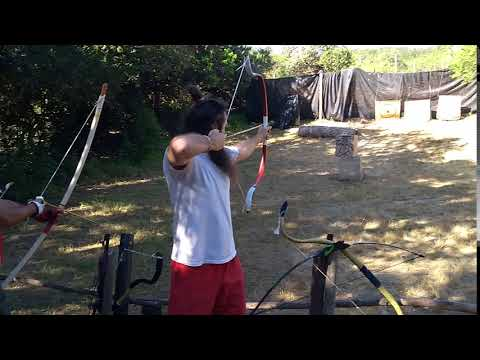 PVC Bow double water pipe recurve