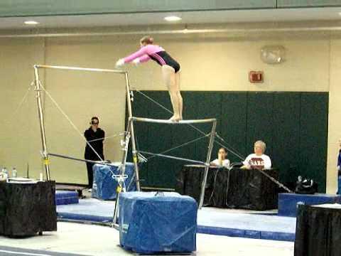 discovery gymnastics 2010 bama rama mckenzie lafferty bars youtube