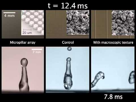 Bouncing water droplets off surfaces even faster