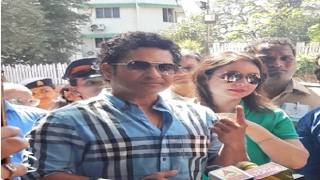 BMC Elections 2017: Celebrities come out to cast their vote