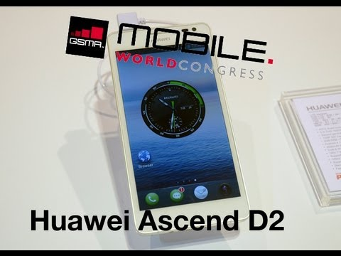 MWC 2013 Probamos el Huawei Ascend D2