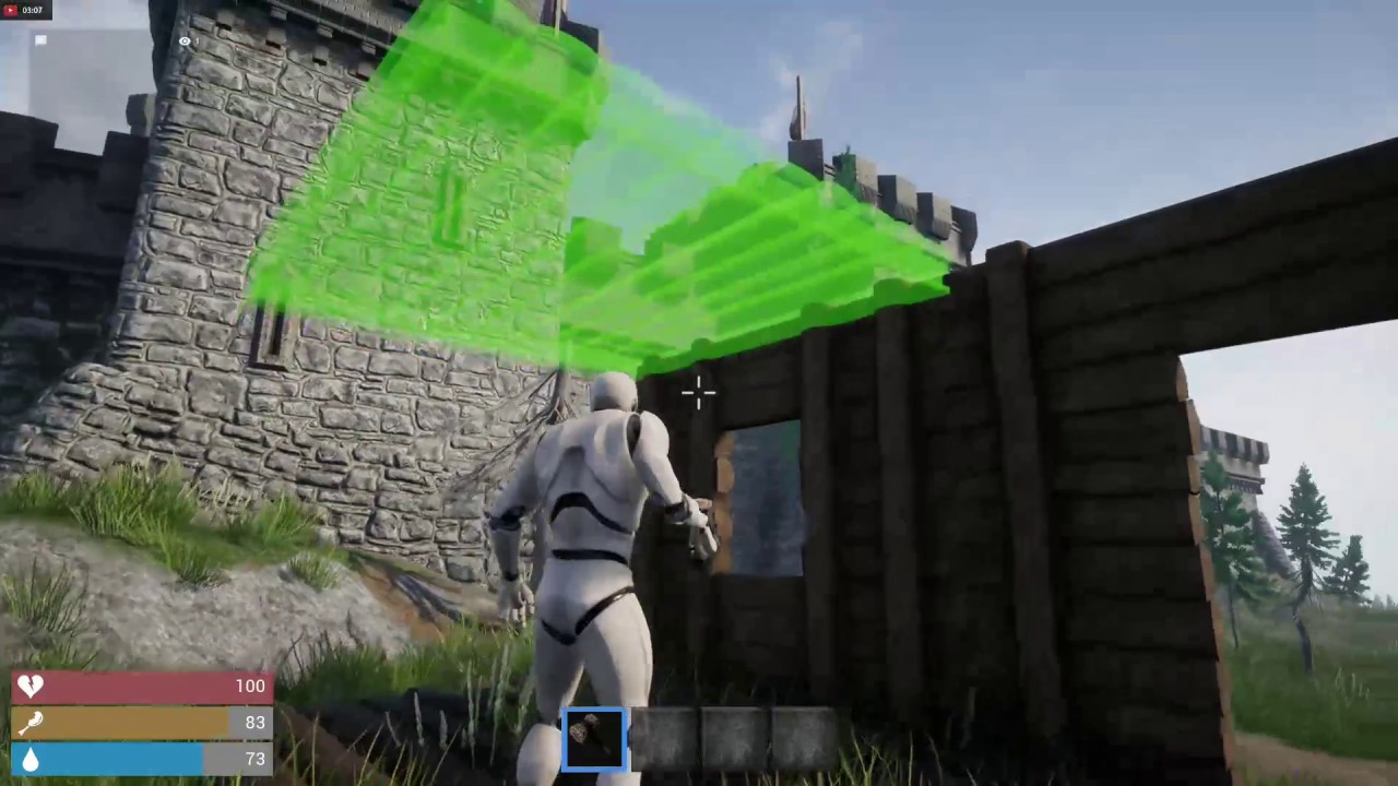 UE4 4 18 3| First Game | Multiplayer working! Crafting/Building/Inventory