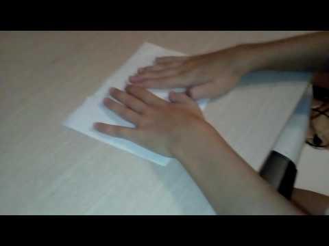 Как сделать клюв из бумаги