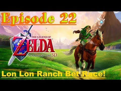 The Legend of Zelda Ocarina of Time 3D - Master Quest - Episode 22 - Lon Lon Ranch Bet Race!