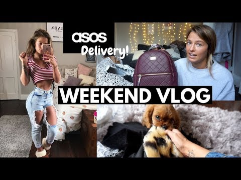 Unbox My Asos Delivery With Me & My New Stretching Routine!