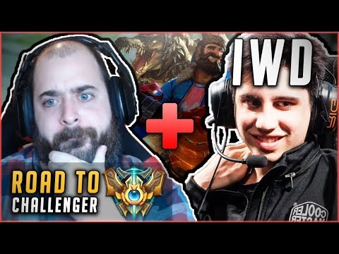 SRO + I WILL DOMINATE = THE DEADLIEST DUO!? D1 IS WITHIN GRASP! Road To Challenger League of Legends