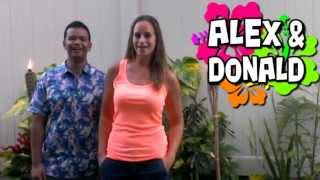 Alex and Donald Wheel of Fortune Audition for OAHU