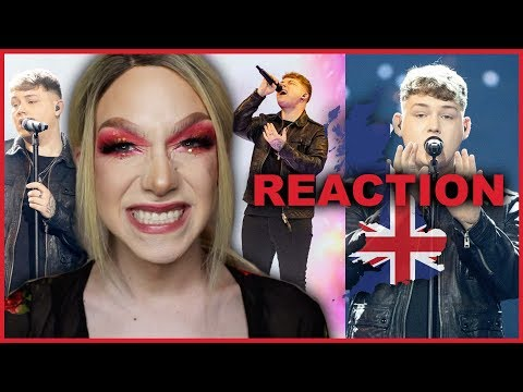 UNITED KINGDOM - Michael Rice - Bigger than Us - LIVE | Eurovision 2019 Reaction