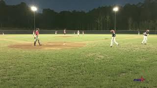 Gavin Pitching 2nd Inning vs Stars Baseball (Ludington)