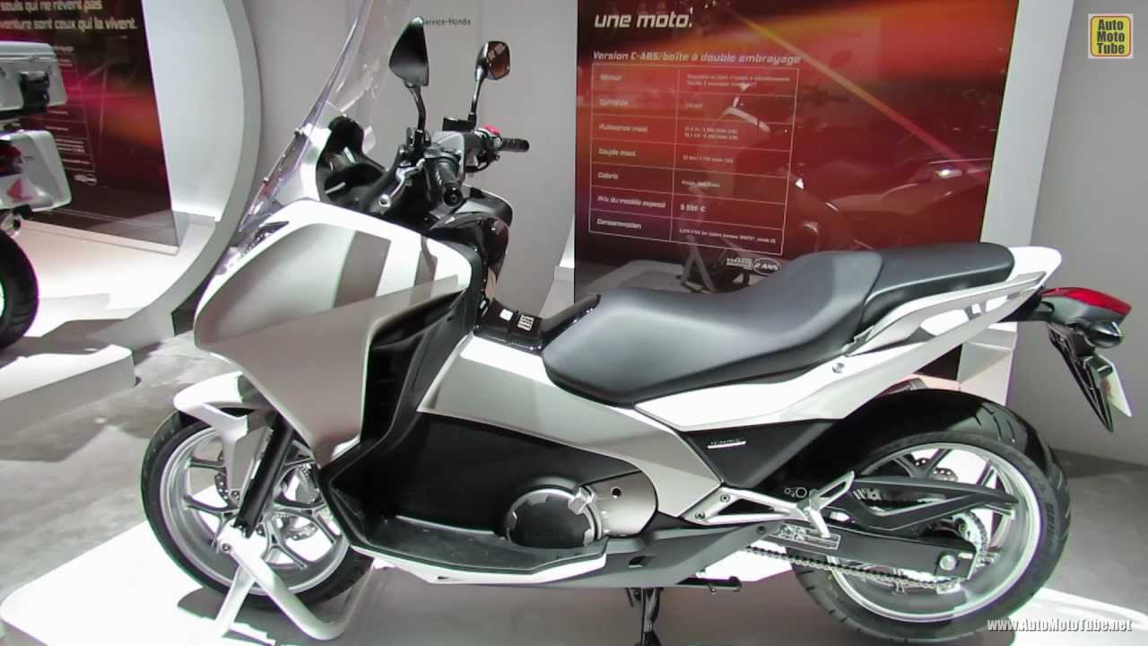 2013 honda integra scooter 2012 paris auto show 2012 mondial de l 39 automobile youtube. Black Bedroom Furniture Sets. Home Design Ideas