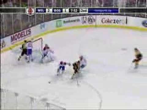 Canadiens @ Bruins 4/19/08 Game 6
