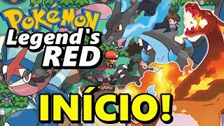 Pokémon Legend's Red (Hack Rom - GBA) - O Início Com... Tudo?!