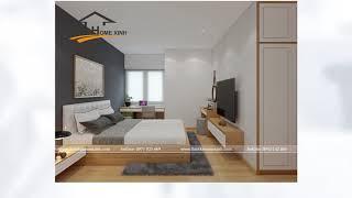 Tham khảo mẫu thiết kế nội thất chung cư Vinaconex 3 Trung Văn gia đình chị Hải