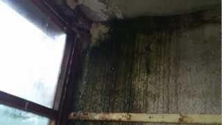 Смотреть видео течет застекленный балкон