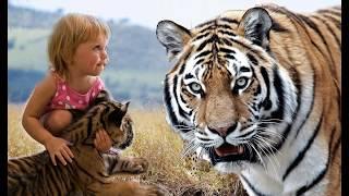 Необычные животные няньки Няни хищницы  / Babysitters predators