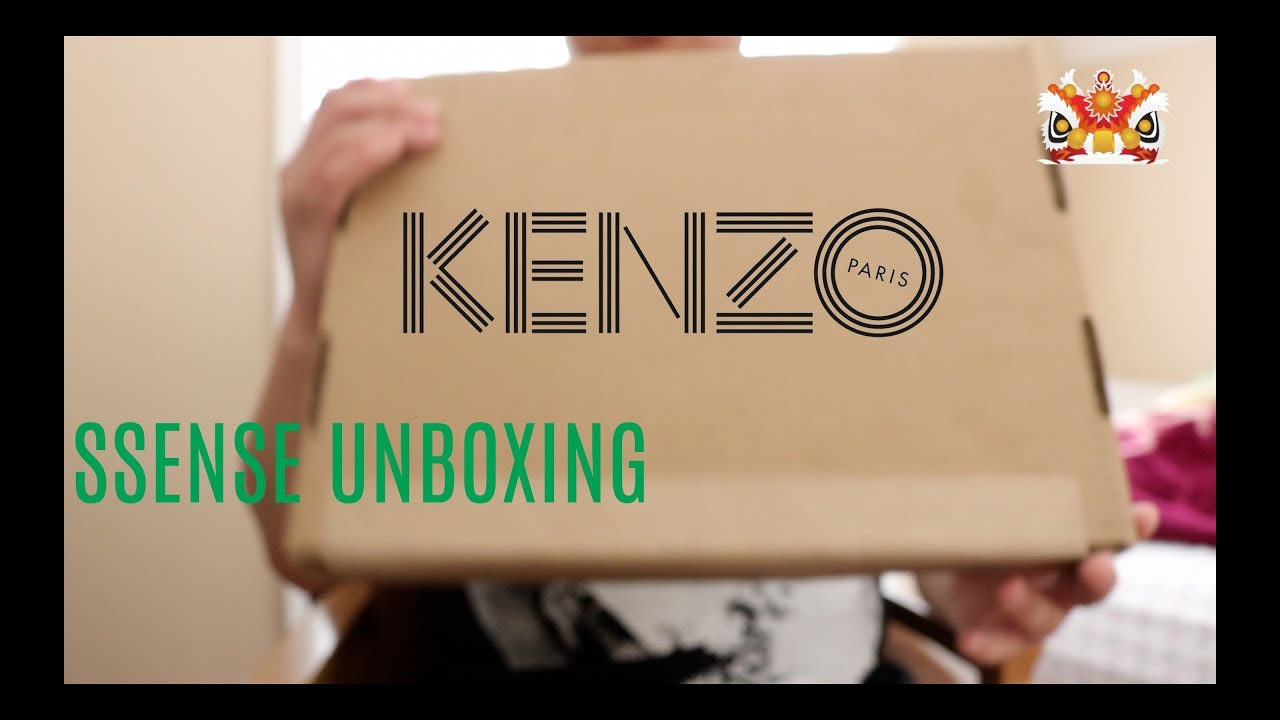 fc0cf0b05aa KENZO CHINESE NEW YEAR SWEATSHIRT UNBOXING - YouTube