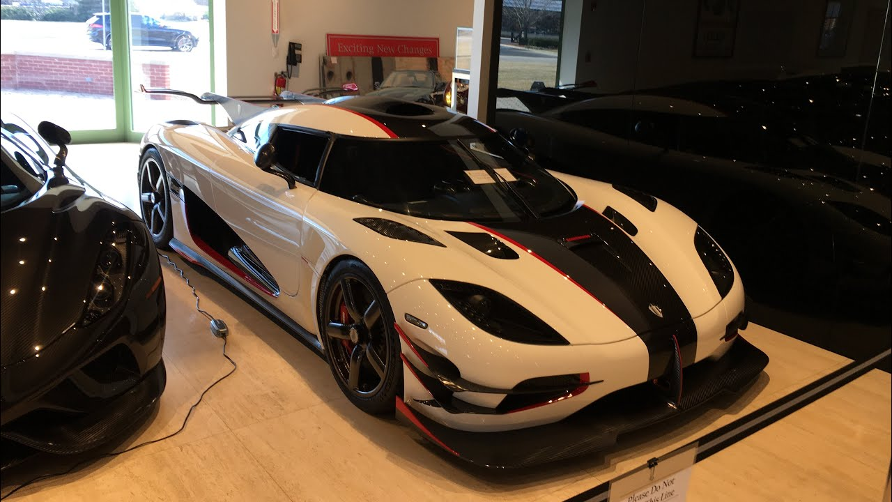 Ferrari Dealership In Lake Forest Illinois With Koenigsegg One 1 The Only One In America Youtube