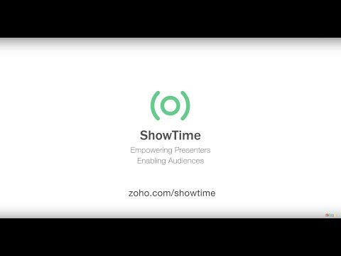 Zoho Showtime Is a Live Web Presentation Tool for Slideshows, Including PowerPoint