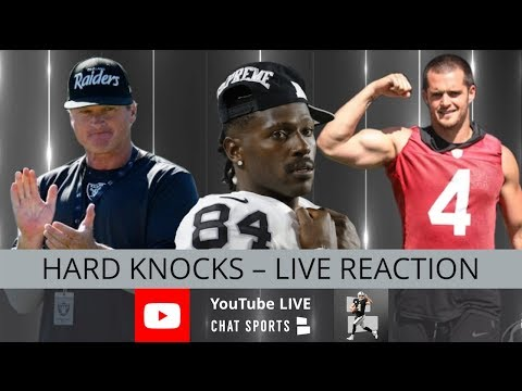 HBO Hard Knocks 2019 Episode 5 Featuring The Oakland Raiders Live Reaction