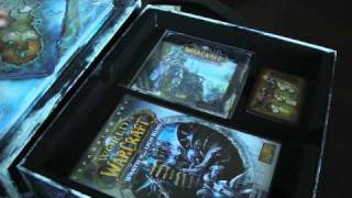 World of Warcraft Wrath Lich King Collectors Edition Unboxing