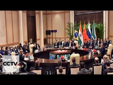 Video: Leaders of five BRICS countries meet in Hangzhou