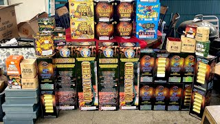 2021 Firework Stash Shopping Trip & Unboxing #3 **Victory Fireworks