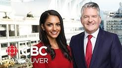 CBC Vancouver News at 6 for Feb. 19 - Pipeline Protest, Coronavirus Latest, Salt Spring Crash