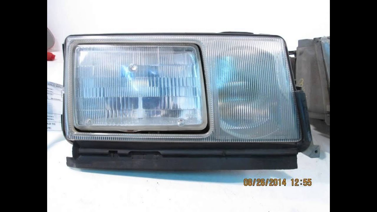 W126 headlight door for Mercedes benz 190e headlights