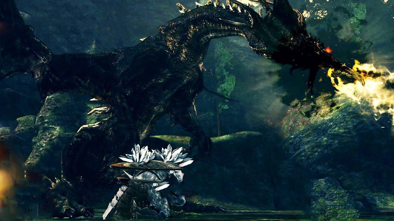 how to kill the dragon dark souls 3