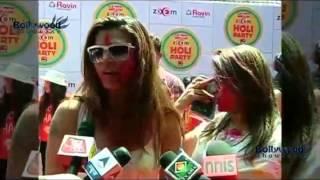 hot wild bolly celeb holi party. sexy gals 2015