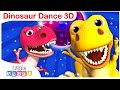 Dinosaur Dance with Baby T-Rex, Sharks vs. Dinosaurs | Kids Songs and Nursery Rhymes by Little Angel