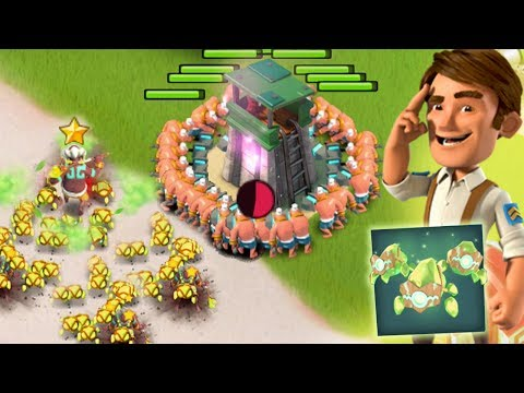 Boom Beach Crystal Critters with Warriors! Will this Hero work?!