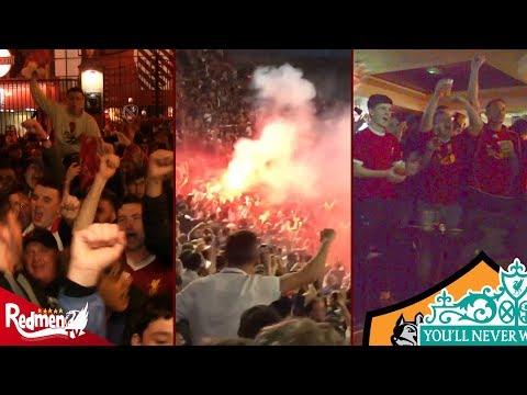 Reds Around The World (Rome/Dublin/Anfield) | Roma 4-2 Liverpool (6-7)