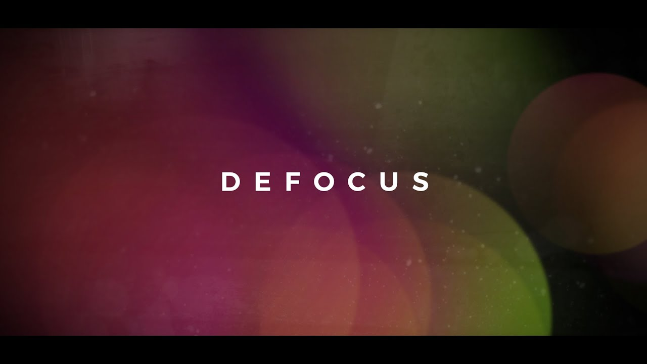 Defocus Title Sequence - Free After Effects Template by Enchanted Media