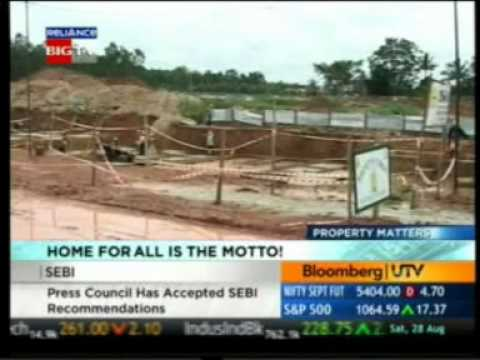 Bloomberg UTV Property Matters 28 Aug  Mr. Jaithirth Rao VBHC