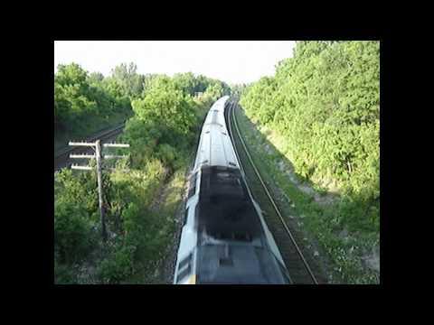 Thursday Night Railfanning on the Bridge - No VIA 88! Long Exposure Night Photos of a CP