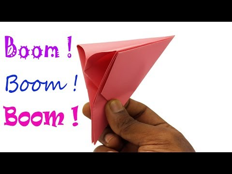 How To Make Paper Poppers Easy | Learn Origami Boom ! Best Instruction - By Origami Art