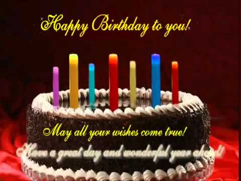 Happy Birthday Song Best Happy Birthday Wishes To You Youtube
