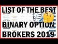 The Best Binary Options Brokers 2019 - TOP 3 Brokers - YouTube