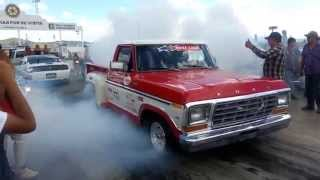 Moto Hayabuza 1300cc twin turbo vs 1979 Ford Mass Flow Carrera Arrancones Mejores Videos Del Mundo