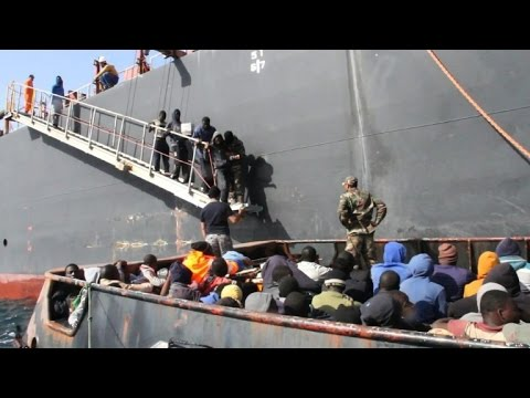 135 people rescued by oil tanker off Libya coast