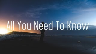 Gambar cover Gryffin & Slander - All You Need To Know (Lyrics) ft. Calle Lehmann