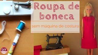 4 Dicas para fazer roupas de boneca sem máquina de costura
