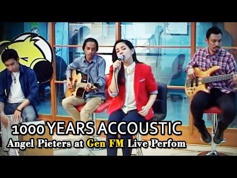 Angel Pieters 1000 Years Akustik At Gen FM [Live Perfom]